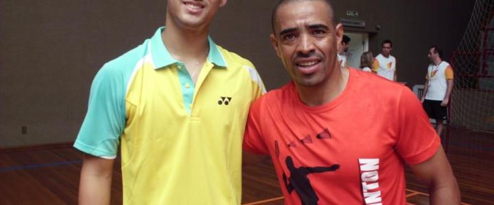 Projeto Badminton no Programa Ligado no Esporte – SBT Interior – Professor Roberto Leal