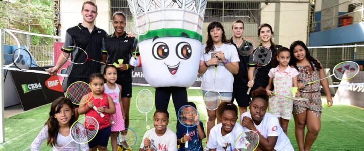 """Mascote de badminton é lançado ao ganhar nome de """"Petekin"""""""