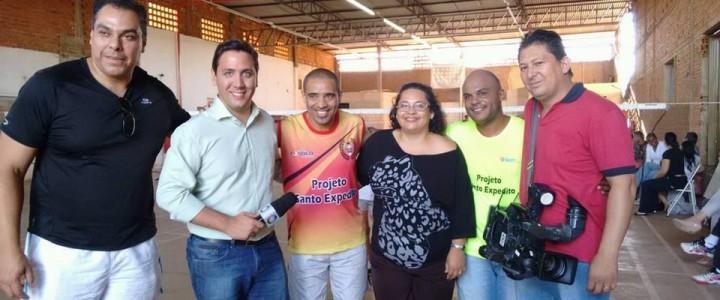 Professor Roberto na TV Record Rio Preto 18/06/2016