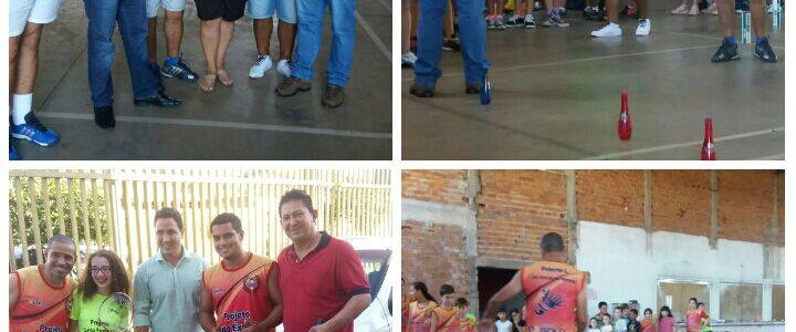 Projeto Badminton na Televisão Record Rio Preto
